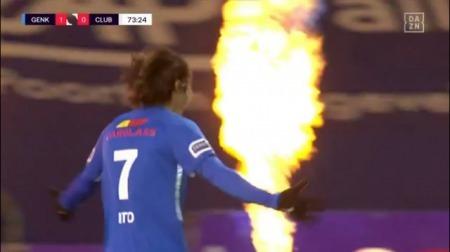 Ito Junya goal Genk 3 - 0 Club Brugge
