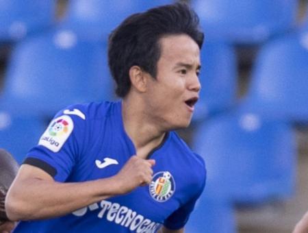 Getafe [2]-1 Levante - Takefusa Kubo goal profile 1