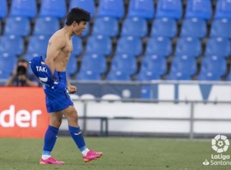 Getafe [2]-1 Levante - Takefusa Kubo goal profile 2