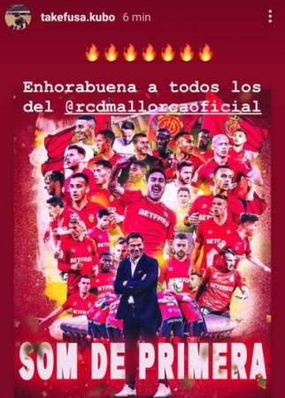 Mallorca promotion kubo on instagram
