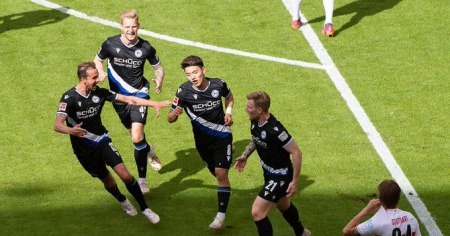 Doan scores for #ArminiaBielefeld, all but secures another year in the league for his club