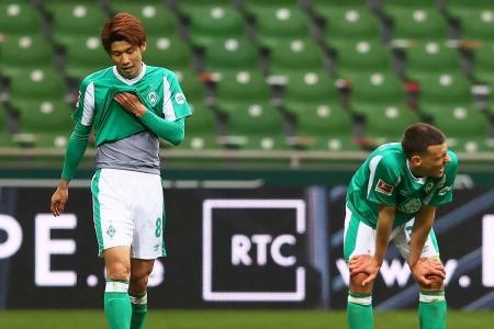 Werder Bremen relegated to the 2 Bundesliga Osako