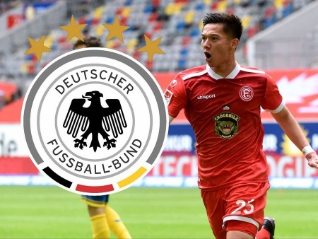 Shinta Appelkamp has been called up to the German U21 national team