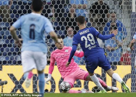 Manchester City 0 - [1] Chelsea - Kai Havertz