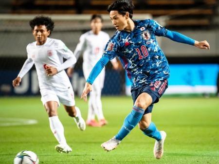 Minamino two goals vs Myanmar