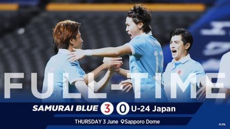 Japan 3-0 U24 japan