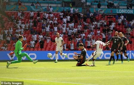 England [1] - 0 Croatia - Raheem Sterling 57 [UEFA Euro 2020]