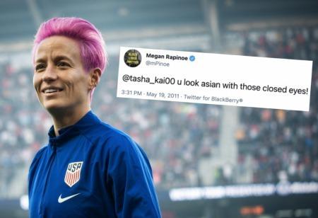 Old tweet of Megan Rapinoe mocking Asians resurfaces after 10 years