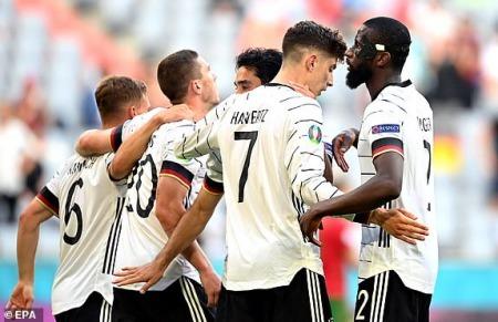 Portugal 1 - [4] Germany - Robin Gosens goal UEFA Euro 2020