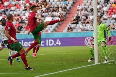Ronaldos assist to Jota Portugal 2 - [4] Germany