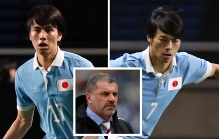 Kawasaki Frontale winger Kaoru Mitoma, 24, and defensive midfielder teammate Ao Tanaka, 22, are both with the Japanese squad preparing for the Olympics football tournament
