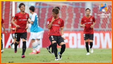 Nagoya Grampus [2] x [0] Pohang Steelers Kakitani goal