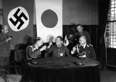 German Handshake Japan