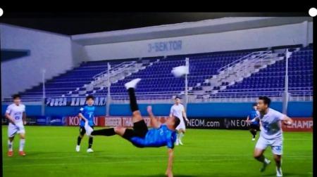 Daegu 1 - Kawasaki Frontale [1] goal Leandro Damião Overhead Kick