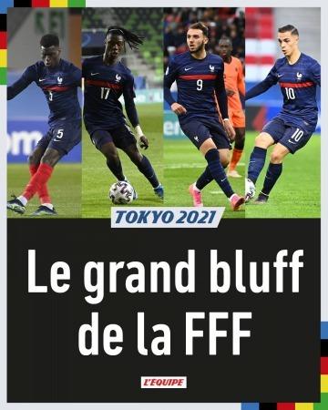 Le grand bluff de la FFF pour la liste des Jeux Olympiques