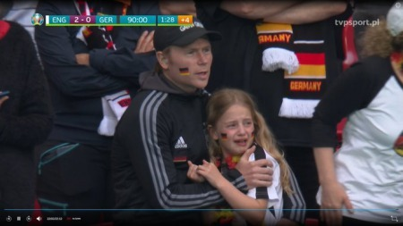 The little German girl crying cos Germany are losing is the most heartbreaking thing
