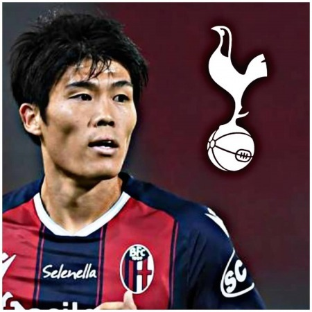 thfc have made a €15M plus €3M bonuses bid for Bologna defender Takehiro Tomiyasu