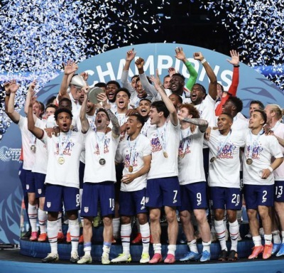 CONCACAF nations league america wins