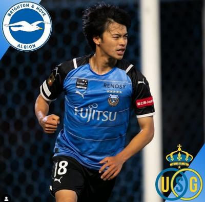 Brighton near Kaoru Mitoma transfer deal from Kawasaki Frontale