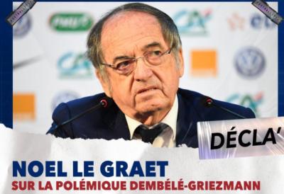 Noël Le Graët sur la polémique Dembélé - Griezmann