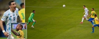 Argentina vs Brazil - Copa America final 2021