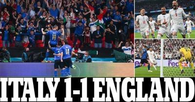Italy [1] - 1 England - Leonardo Bonucci