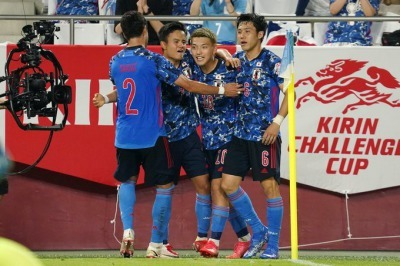 U24 Japan (1)-0 U24 Spain - Ritsu Doan goal