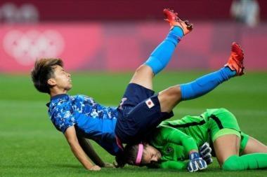 Sinclair scores again as Canada draws Japan in women's soccer