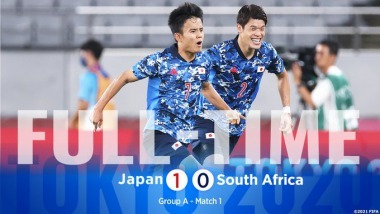 Japan 1-0 South Africa Tokyo Olympics