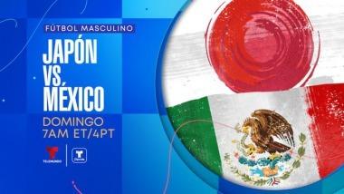 Tokyo2020 Mexico vs Japan of the Tokyo Olympics