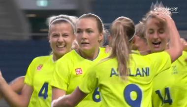 Sweden [1]-0 Japan – Magdalena Eriksson