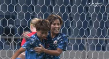 Sweden 1-[1] Japan – Mina Tanaka 23 (Olympic Womens QF)