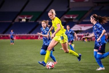 womens soccer tournament after 3-1 quarterfinal Japan loss to Sweden