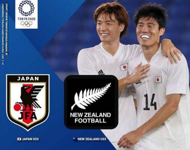 Japan vs New Zealand Tokyo 2020 Olympics