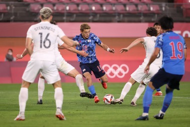 Japan U23 vs New Zealand U23 Tokyo Olympic Mens Soccer