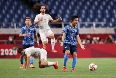 Japan U23 0-0 Spain U23 half time