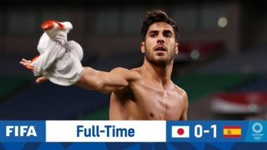 Japan U23 0-1 Spain U23 Tokyo olympic