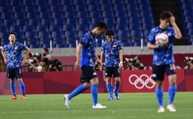 Tokyo Olympics Mens Football, Semifinals JAPAN 0-1 SPAIN