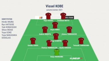 Vissel Kobe with Bojan Muto Osako