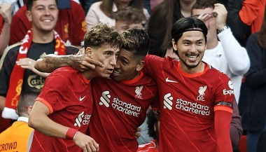 Liverpool 2-0 Osasuna - Roberto Firmino goal