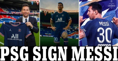 Paris Saint-Germain is delighted to announce the signing of Leo Messi