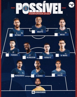 PSG front 3