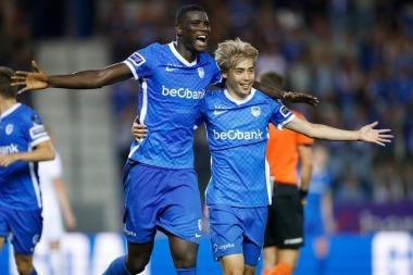 Genk 3-0 OH Leuven Junya Ito (great goal)