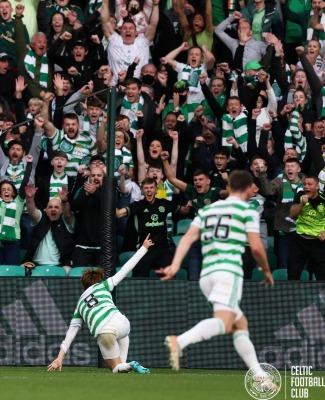 Celtic 1-0 AZ Alkmaar Kyogo Furuhashi goal