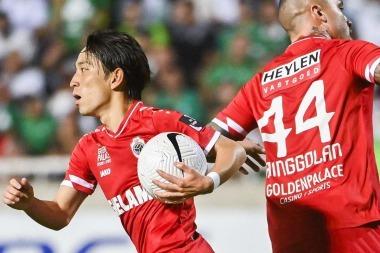 2021-08-20-miyoshi antwerp 3_2 Omonia Nicosia goal