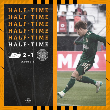 AZ 2-1 Celtic Furuhashi Kyogo goal (2-[3] on agg) UEFA Europa League
