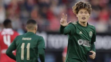 AZ 2-1 Celtic Furuhashi Kyogo goal (2-3 on agg) UEFA Europa League