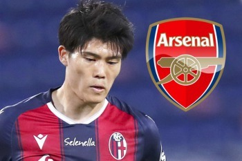 Arsenal are in talks with Bologna to sign Japan RB Takehiro Tomiyasu