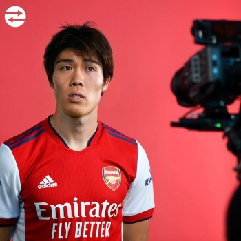 Paperworks completed between Arsenal and Bologna for Takehiro Tomiyasu