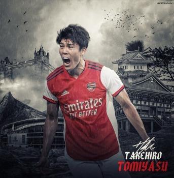 Welcome to the Arsenal Takehiro Tomiyasu